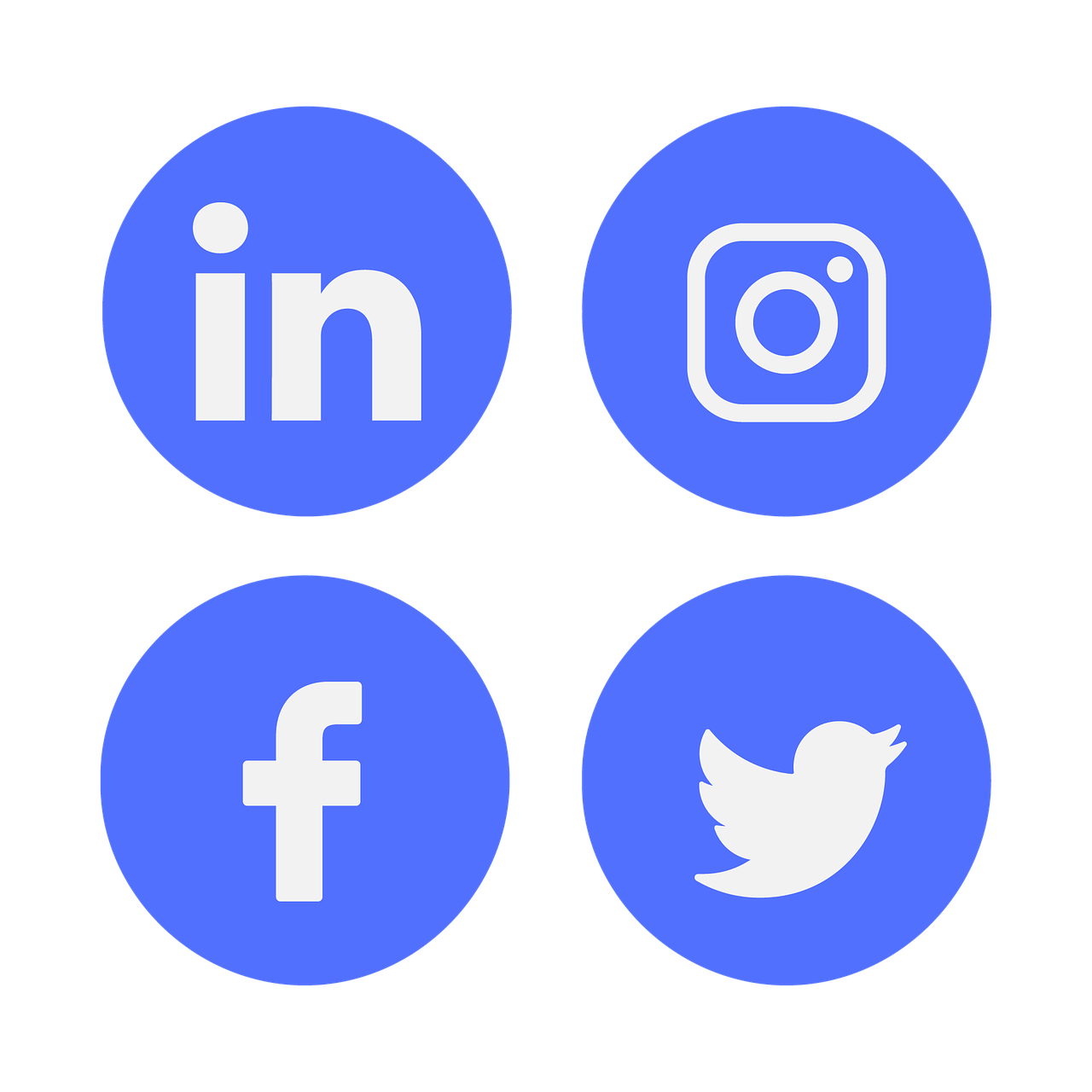 Social Media Icons for Linked In, Instagram, Facebook, and Twitter.